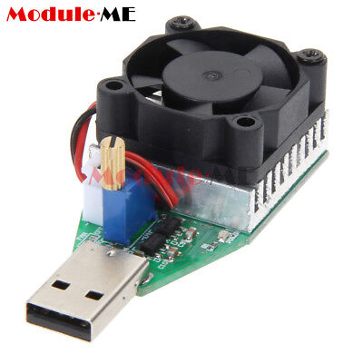 Electronic Load resistor USB Current Tester Discharge Battery Test Capacity UK