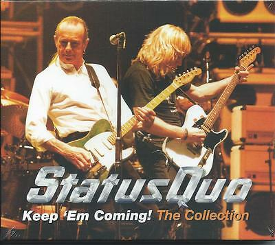 Status Quo - Keep 'Em Coming - The Collection / Best Of / Greatest Hits 2CD NEW
