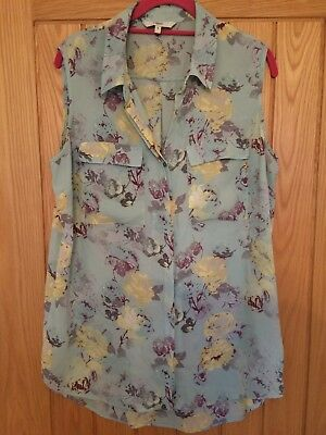 Next sleveless blouse size 14 used but good condition