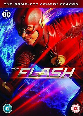 The Flash: Season 4 [2018] (DVD)