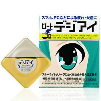 Rohto Digi Eye Digital Eye for Blue Light Damage Protection Eye Drops 12mL