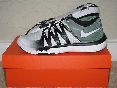new concept 50cab 4e5da Nike Free Trainer 5.0 V6 AMP Oregon Ducks White Mens Size 10 DS NEW! 723939