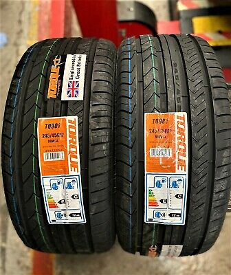 2 x 245 45 17 GOODRIDE 245/45R17 99W XL BRAND NEW TYRES
