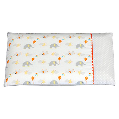 **ClevaMama Replacement Baby Pillow Case (Elephant)**