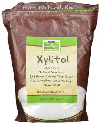Xylitol Natural Sweetener by 100percent Pure, 2.5 Lbs 1134 Grams MADE IN USA