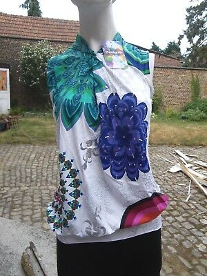 Tee Shirt Desigual Modele Mimoso Taille Xs Taille S/M  Jlb2162018