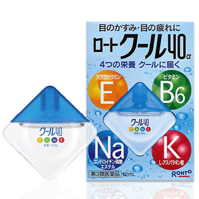 Rohto Cool 40α Alpha Medicated Eye Drops 12mL