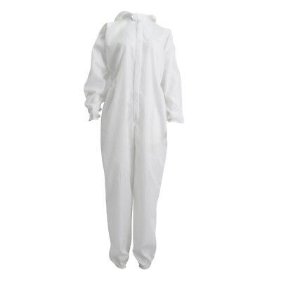 Disposable Unisex Anti static Protective Coverall with Hood & Boots XL MALE