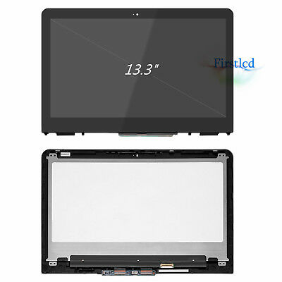 HP Pavilion X360 M3-U001DX M3-U101DX LED LCD Touch Screen Replacement & Bezel HD
