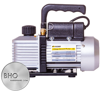 2.5CFM 1/4HP Single Stage Vacuum Pump UK Plug CE Marked