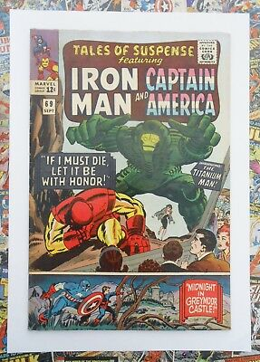 TALES OF SUSPENSE #69 - SEPT 1965 - 1st TITANIUM MAN APPEARANCE! - FN/VFN (7.0)