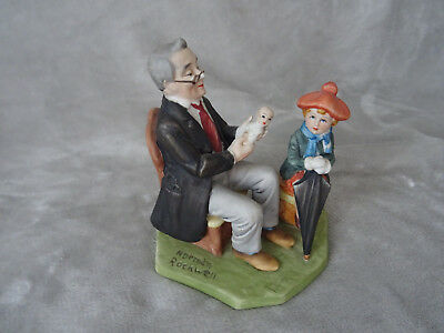 """Porzellan Figur  Norman Rockwell Collector´s Club """"Doctor and The Doll"""""""