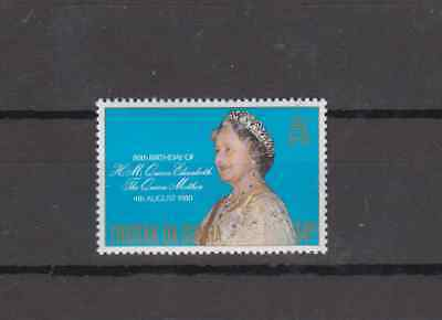 Tristan Da Cunha 1980 Queen Mother 80Th Birthday Complete Set Mint Never Hinged