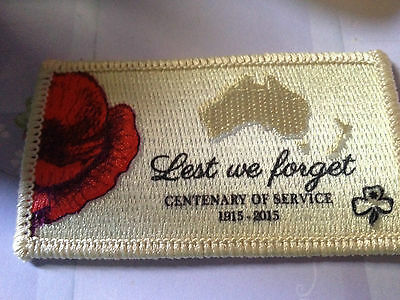Girl Guides / Scouts Centenary of Service 1915-2015