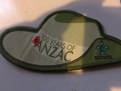 Girl Guides / Scouts 100Years of ANZAC