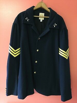 Civil War Union Army Dark Blue Special Forces Wool Frock Coat XXL Reproduction
