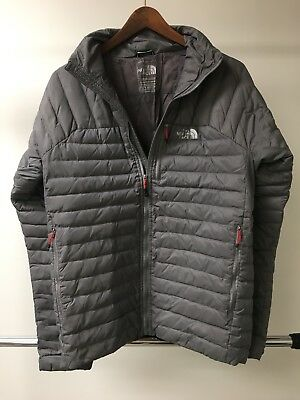 B01 The North Face Summit Series 800 Pro Light Puffer XL Gray Down Jacket