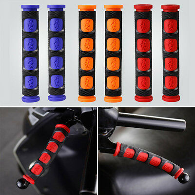 2x Motorcycle Handgrip Guard Motorbike Brake Clutch Lever Cover Handlebar Grips