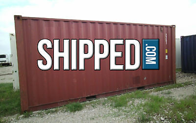 20' SHIPPING CONTAINER USED for HOME BUSINESS STORAGE WE DELIVER OMAHA, NEBRASKA