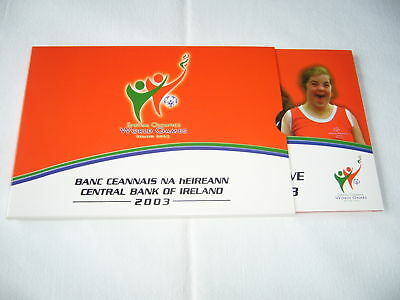 """Off. KMS Irland 2003 """"Special Olympics World Games"""""""