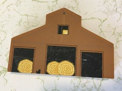 The Cat's Meow Village American Barn Series Southern Crib Barn Wooden
