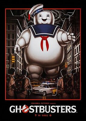 Ghostbusters Vintage Movie Wall Art Poster Print Maxi A1 A2 A3 A4 A5