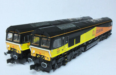 DAPOL ND 126 Class 66 Colas Twin Pack N Gauge DCC Ready