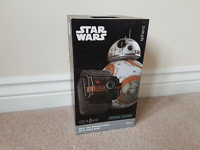 Star Wars BB-8 App Enabled Droid with Force Band - Excellent Condition