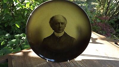 Victorian Ridgways Pottery Portrait Plate Sir Wilfred Laurier Premier of Canada