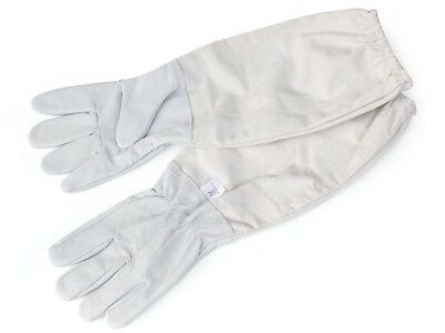 Beekeepers Beekeeping Soft Goat Leather With Cotton Gloves Long Vented Sleeves