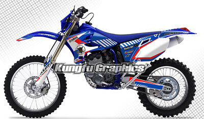 2005 2006 Yamaha WR250F WR450F Team Racing Decals Stickers Wraps MX Graphics Kit
