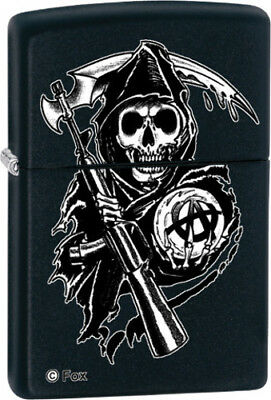 Zippo Lighters & Accessories New Sons of Anarchy-Grim Reaper 28504