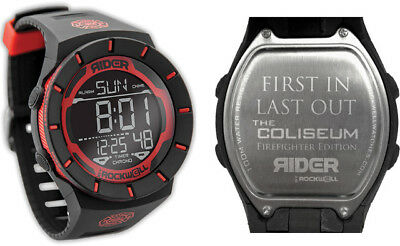 New Rockwell RW102F Coliseum Watch Firefighter Red