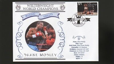 Shane Mosley Welterweight World Champion Boxing Cover