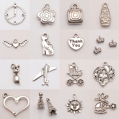 Wholesale Tibetan Silver Pendant Silver Jewelry Charms Findings Beads~Lot size~