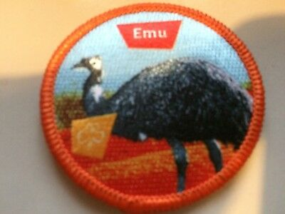 Girl Guides / Scouts Emu
