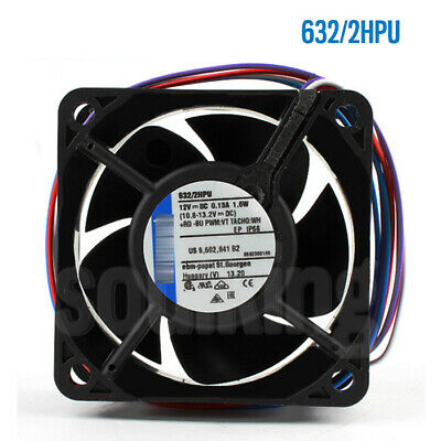 For ebmpapst 6CM 60*25MM 12V 1.5W Fan 632/2HPU