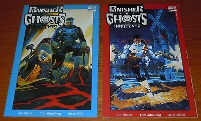 Punisher: The Ghosts of Innocents #1 & #2 (Jan 1993, Marvel,) COMPLETE RUN