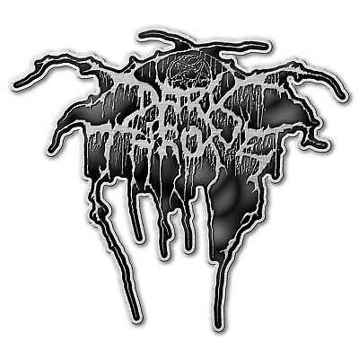 Darkthrone Logo Pin Button Badge Official Black Metal Band Merch New