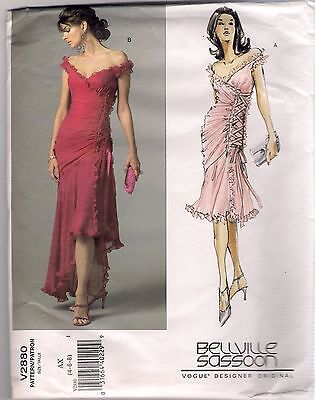 Vogue Bellville Sassoon Lorcan Mullany Designer Sewing Pattern V1362