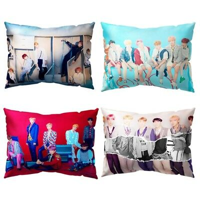 KPOP BTS Pillow Case LOVE YOURSELF 結 ANSWER Rectangle Cushion Cover Home Decor