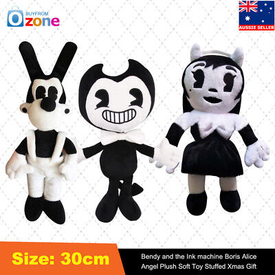 Bendy & the Ink machine Boris Alice Angel Plush Soft Toy Stuffed Doll Kids Gift