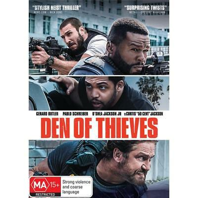 Den Of Thieves (2018)  DVD