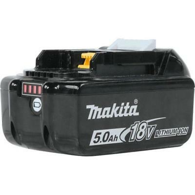 Genuine Makita BL1850B 18V 5.0Ah Lithium-Ion Battery with indicator