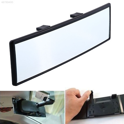 Universal 300mm Panoramic Curve Convex Interior Clip On Rear View Mirror VQ