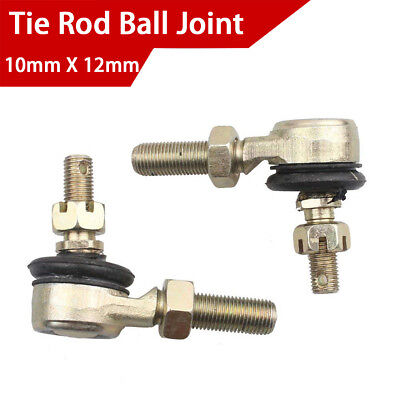 10mm X 12mm M10 Metal Tie Rod Ball Joint End for Motorcycle Scooter ATV Go Kart