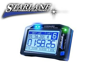 Starlane Cronometro Gps Kart Moto Scooter Corsaro Touch Screen Track Lap Timer
