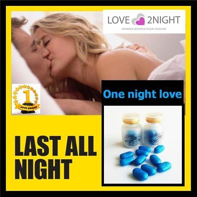 ONE NIGHT LOVE / Male Enhancement Sex Pills / NO 1 / 10 Tablets / LOVE 2NIGHT