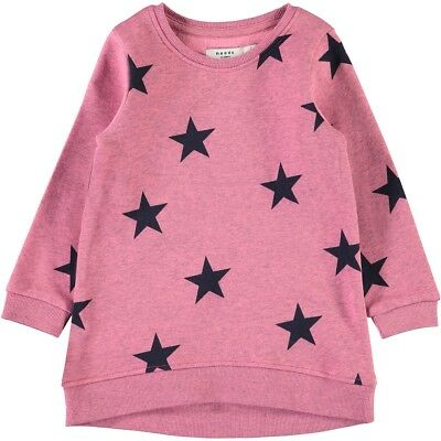 e8fb01128bfc name it Kinder Mädchen Sweatshirt Gr.92-128 Shirt langarm pink Pullover neu!