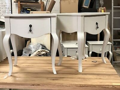 Pair Of Vintage French Bedside Tables